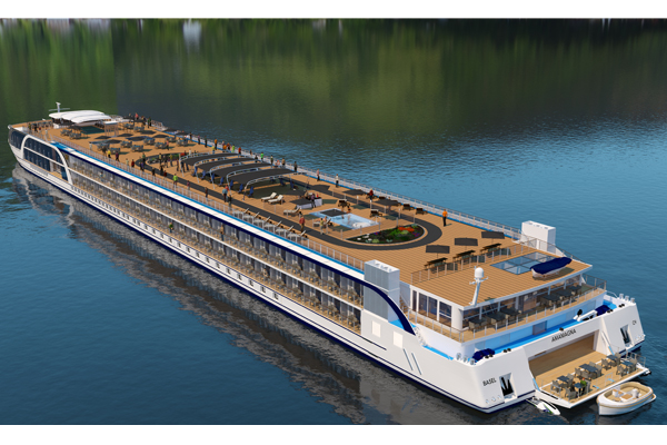 AmaWaterways reveals 'revolutionary' double-width river ship
