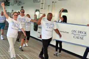 Holland America Line launches cancer fundraising initiative
