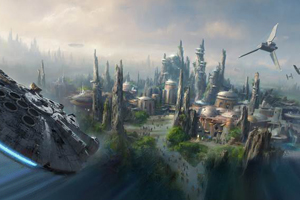 Disney unveils new Star Wars and Toy Story lands