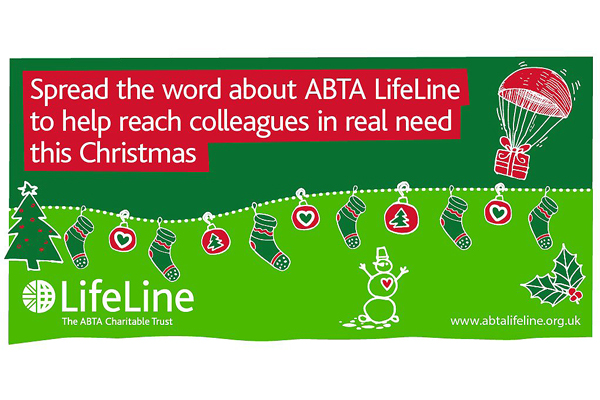 Christmas appeal offers LifeLine to crisis-hit Abta members