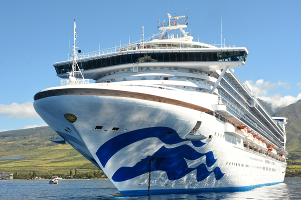 Star Princess leaves dry dock after multi-million dollar revamp