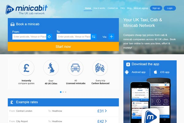 Heathrow teams up with Minicabit for premium cab service