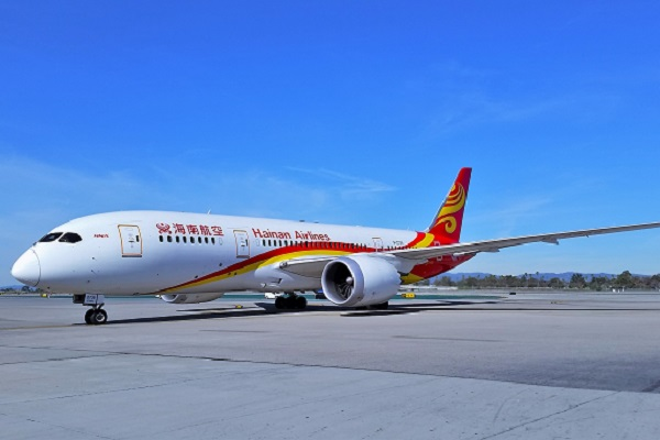 Dreamliner to be used on Hainan Airlines' Manchester-Beijing route