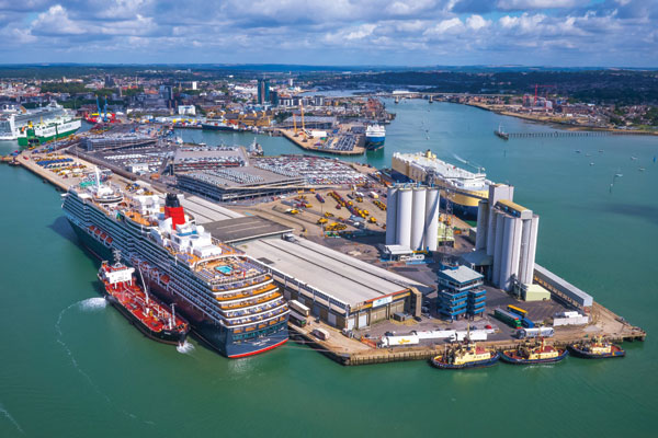 Cruise terminal upgrade begins at Port of Southampton