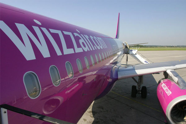 Wizz Air passenger numbers rise by a quarter in November