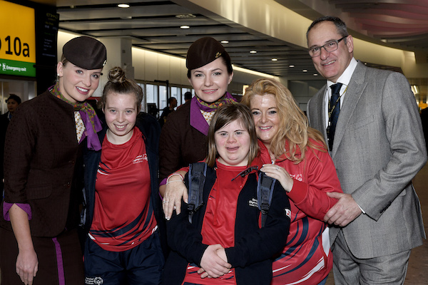 Etihad flies Team GB to Special Olympics World Games