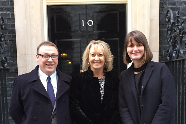 Industry charity Just a Drop honoured at Downing Street