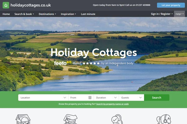 Private equity firm invests in Holidaycottages.co.uk