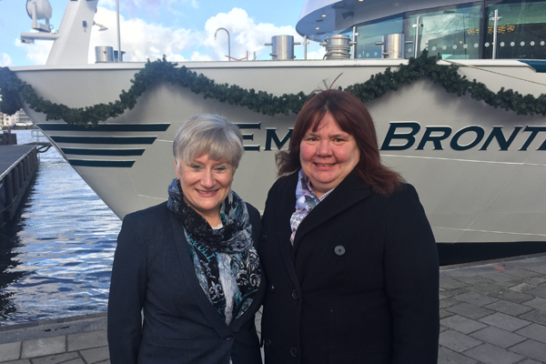 Travel agent godmothers name Riviera Travel's new river vessels
