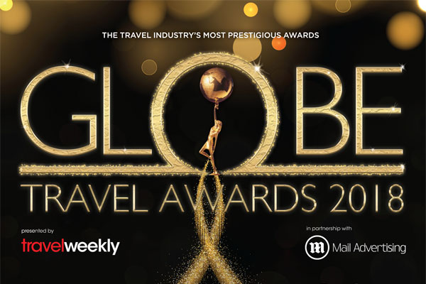 Shortlist announced for Travel Weekly Globe Travel Awards