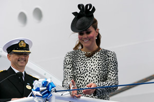 Duchess of Cambridge names Royal Princess