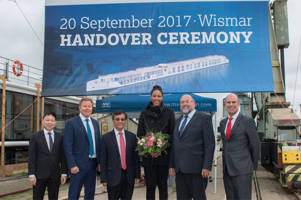 Crystal River Cruises receives second 'Rhine Class' ship Crystal Mahler