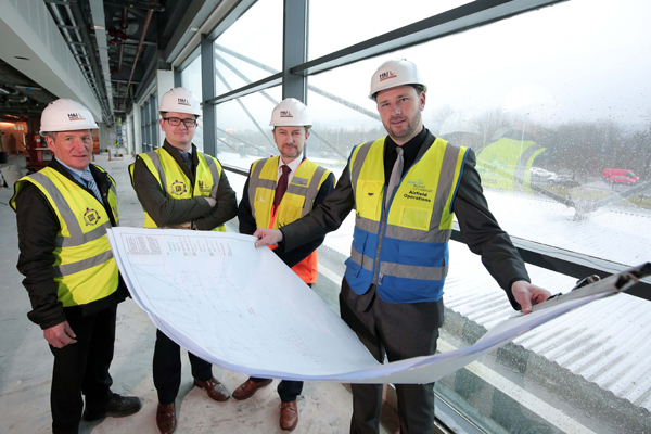 Work starts on £15m upgrade of Belfast airport