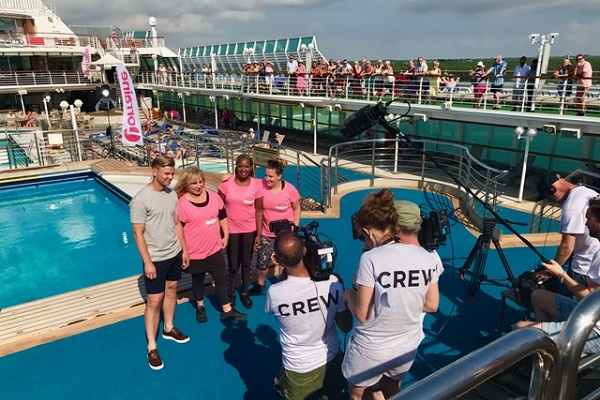 P&O Cruises hosts ITV's Lorraine and celebrities on Oceana