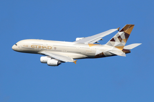 Etihad Airways named most desirable carrier in poll