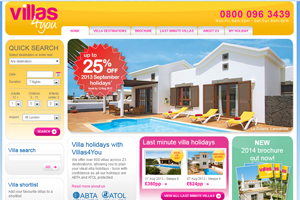Villas4You offers reduced deposits in early bookings drive