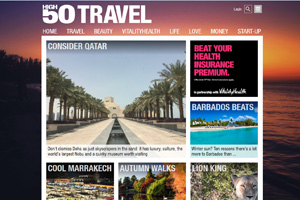 High50 Travel brand unveiled to trade