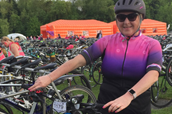Fundraising plea by homeworker cycling more than 200 miles for charity