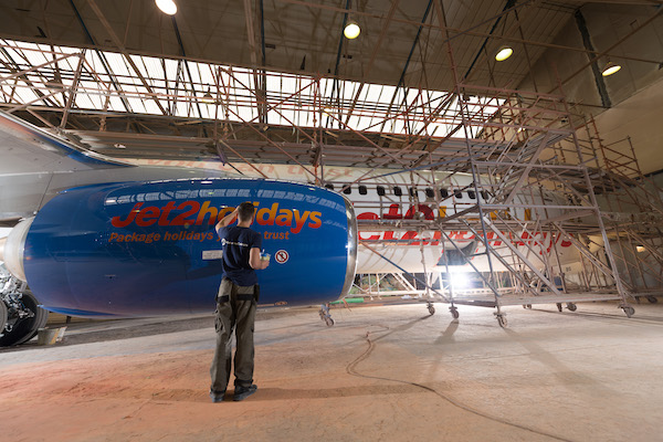 Jet2.com celebrates delivery of 100th aircraft