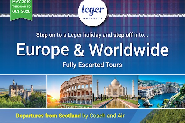 Leger Holidays unveils brochure for Scottish agents