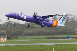 Flybe leases four aircraft for Scandinavian operations