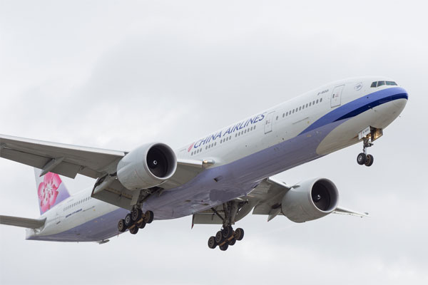 China Airlines announces return to UK with Gatwick service