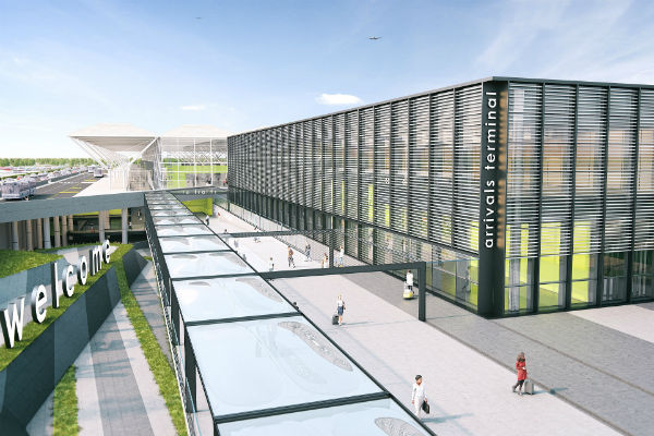 Work set to start on new Stansted arrivals terminal