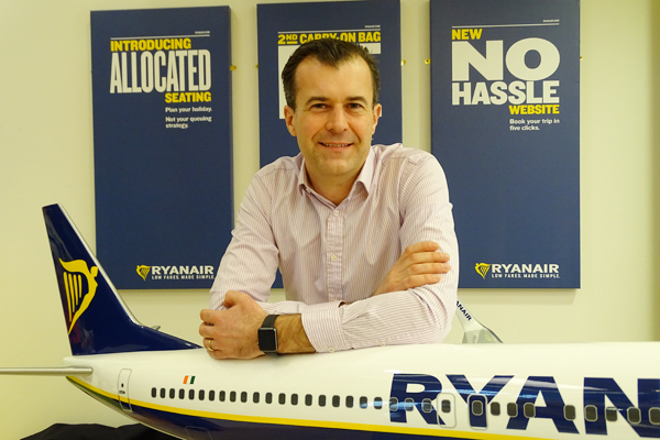 Ryanair adds multi-trip travel insurance to range of products