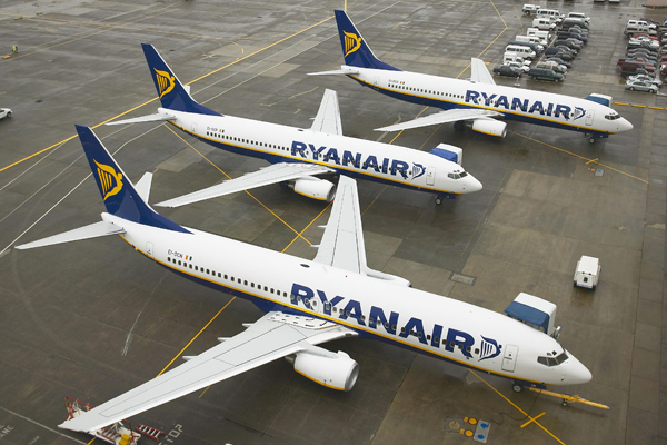 Ryanair unveils new Stansted and Luton routes
