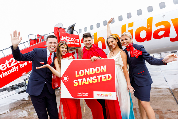 Jet2 raises Stansted capacity by 18% with three new destinations