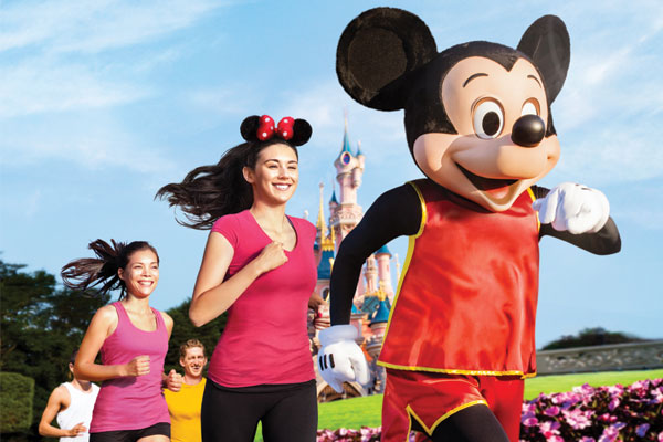 Val d'Europe Half Marathon at Disneyland Paris