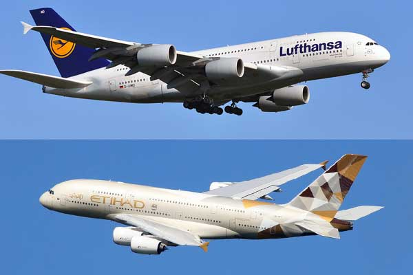 Lufthansa and Etihad sign extended commercial pact
