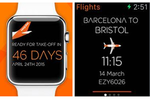 EasyJet unveils app for Apple Watch