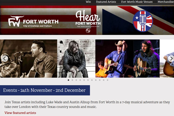 Texas musicians to 'take over' London venues