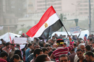 UK government advises caution after Cairo clashes