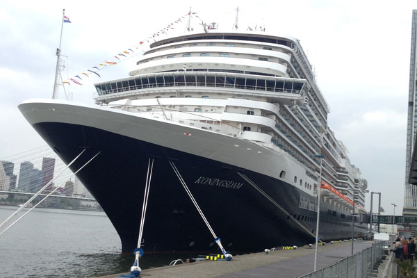 Koningsdam dedication to be live-streamed