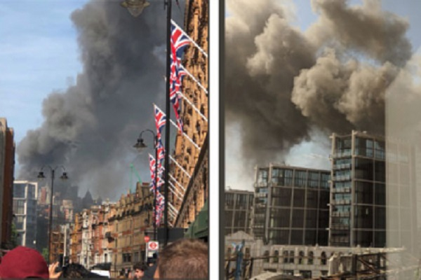 All guests and staff accounted for after Mandarin Oriental Hyde Park fire