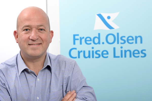 Julian Brackenbury promoted to Fred Olsen hotel operations director