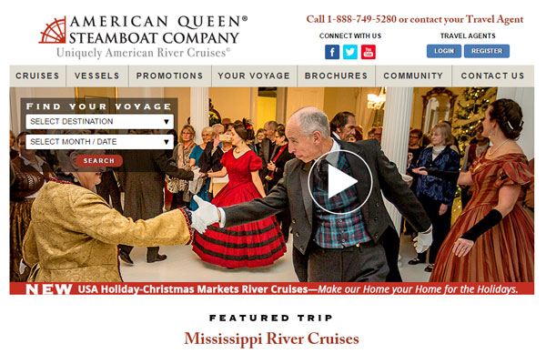 American Queen Steamboat Company announces new vessel