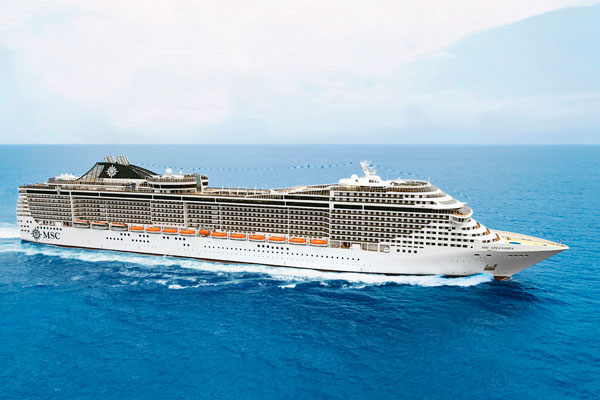 MSC Cruises deploys second ship to keep pace with Chinese growth