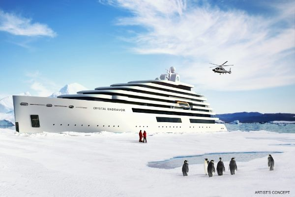 Crystal Cruises reveals plans for polar class mega-yacht