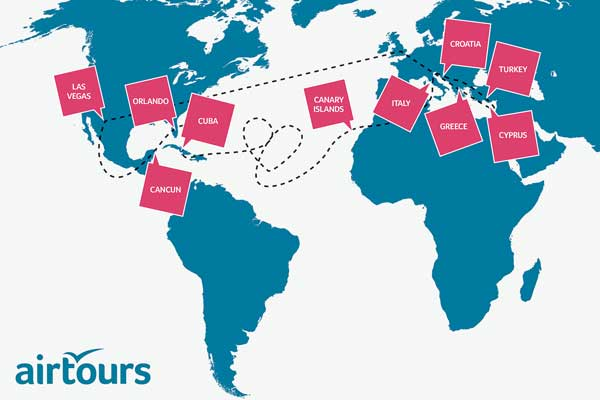 Airtours introduces round-the-world 'taster' holidays concept