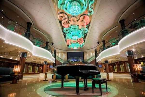 NCL Norwegian Jade emerges from dry dock refit