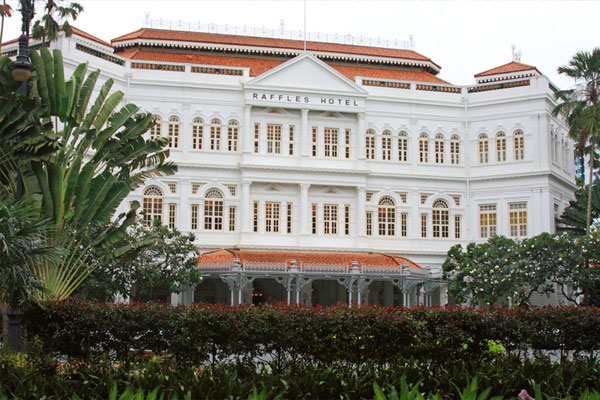 Restoration project plotted for Raffles Hotel Singapore