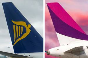 Ryanair and Wizz Air see September passenger numbers rise