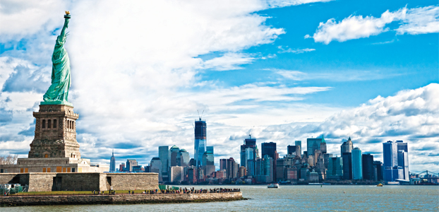 New York City sets target of 10m extra arrivals per year by 2021