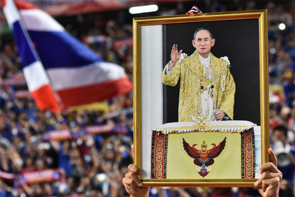 FCO urges respectful behaviour following death of Thai King