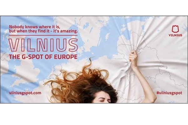 Lithuanian capital bills itself 'the G-spot of Europe' in marketing drive
