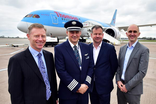 Thomson Airways unveils new long-haul routes from Bristol
