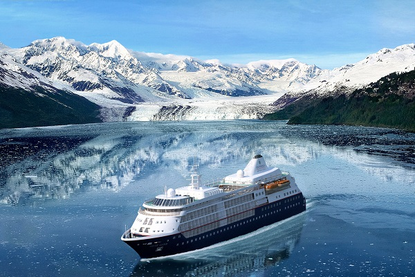 Images of Silversea's Silver Cloud released ahead of its ice-class conversion